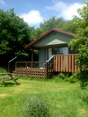 Honeysuckle Eco Lodge Wheatland Farm Devon